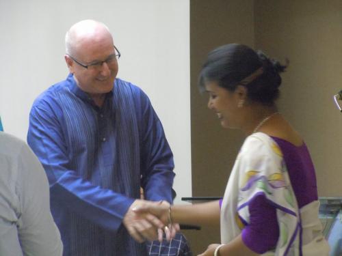 joe and A2/Bangladesh graduate