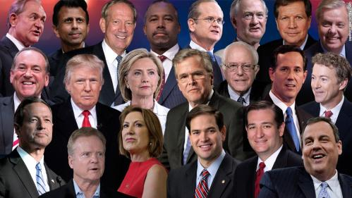 Candidates for U.S. President - 2016