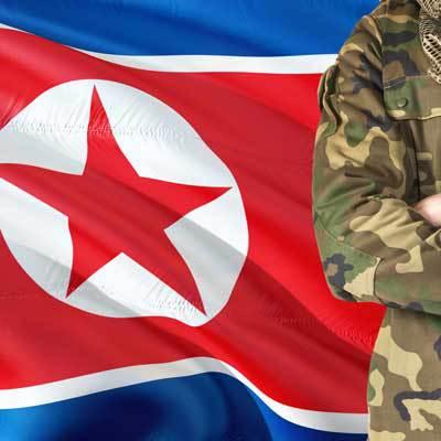 N Korea flag