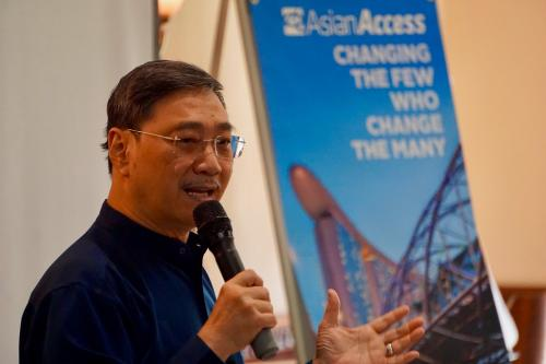 Edmund Chan keynote speaker at Asian Access summit